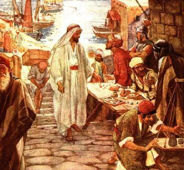 Follow me, Jesus told Levi  (Mathew)